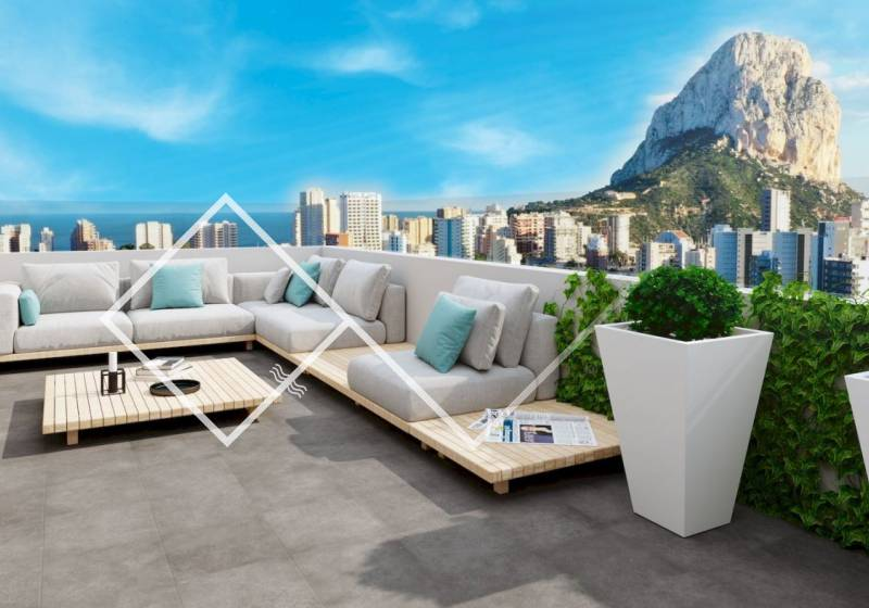 Apartment - New build - Calpe - Beach