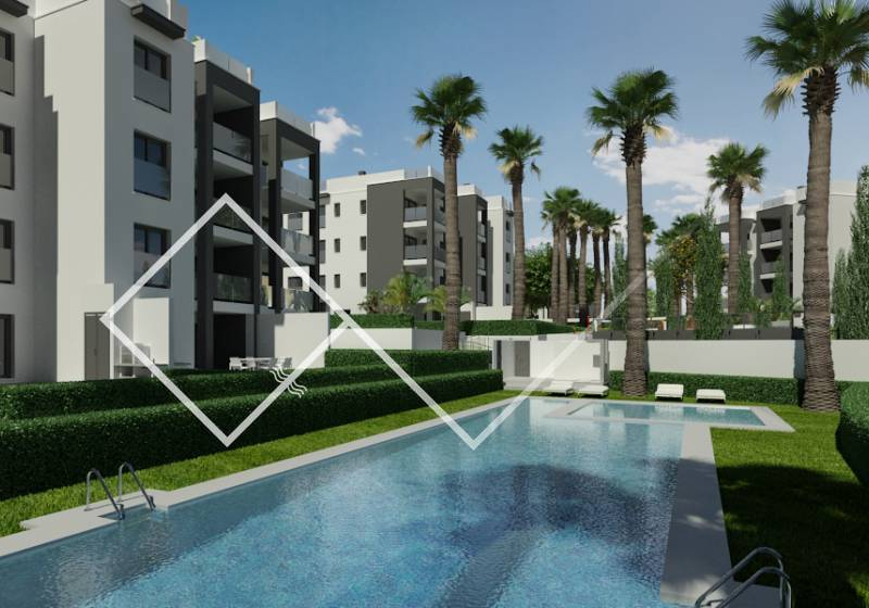 Apartment - New build - Villamartin - Golf