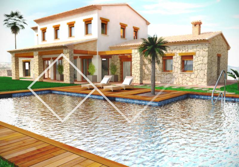 Finca - New build - Benissa - Pedramala