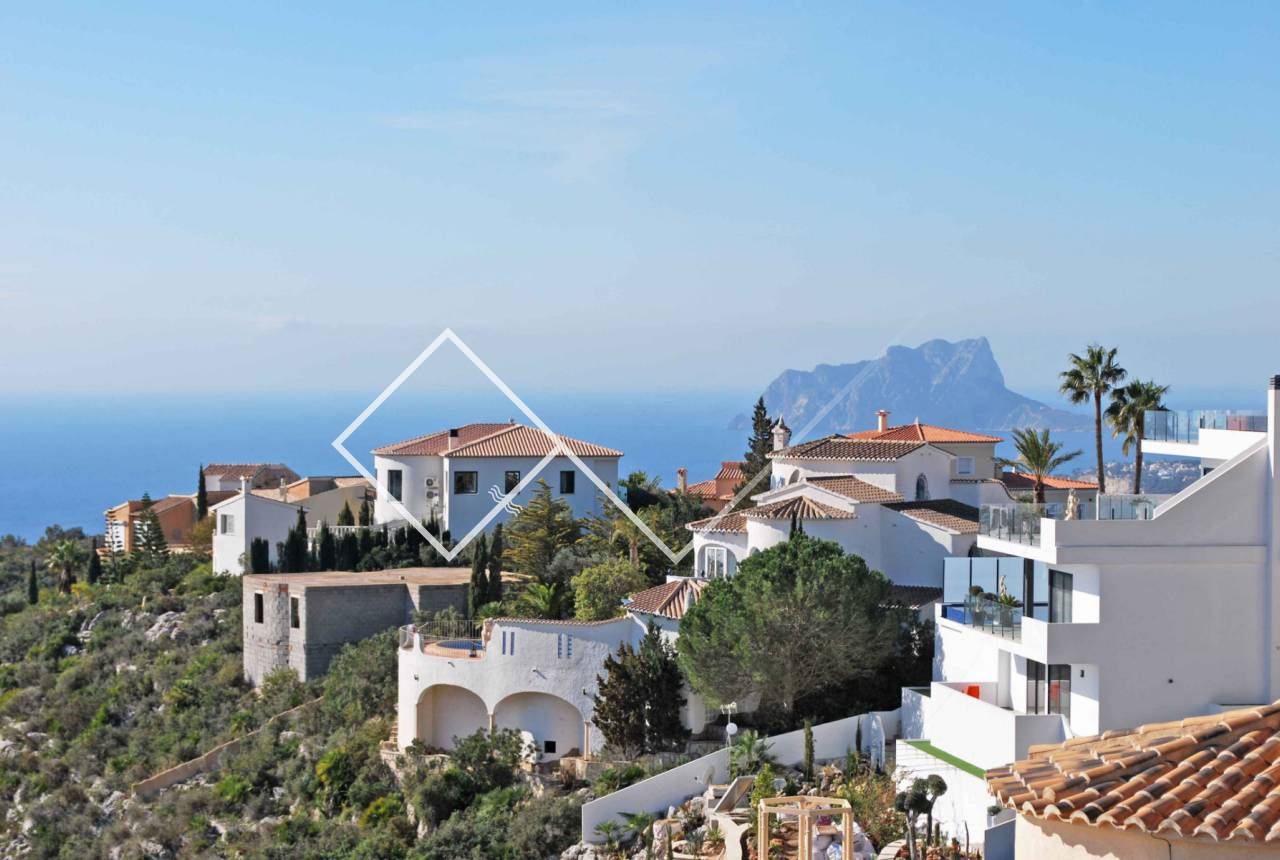 lovely views - One level villa with amazing views, Cumbre del Sol, Benitachell