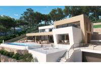 modern design - New construction Javea, Cap Marti with sea views