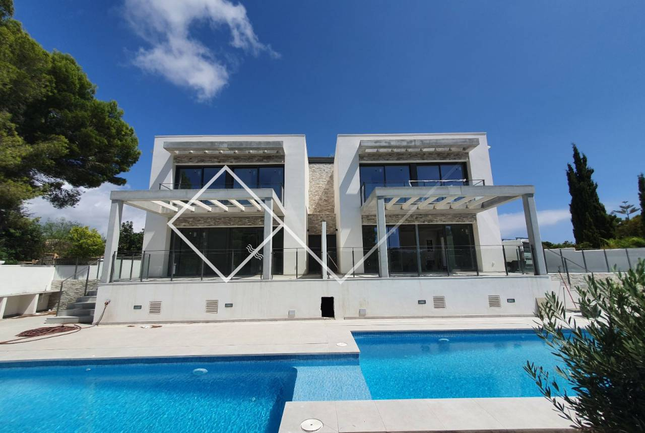 New build - Attached house - Moraira - Benimeit