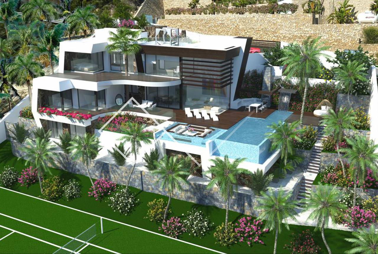 New build - Villa - Benissa - Raco de Galeno