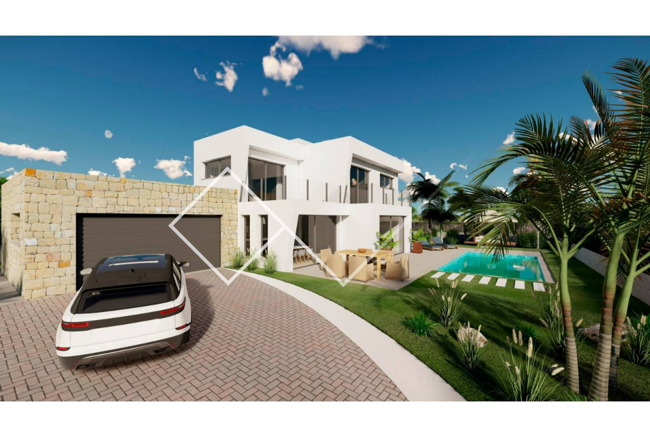 New build - Villa - Calpe - Buenavista