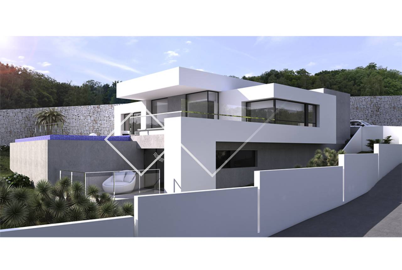 New build - Villa - Moraira - Solpark
