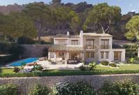 new construction - Grand elegant new build villa in El Piver; Javea