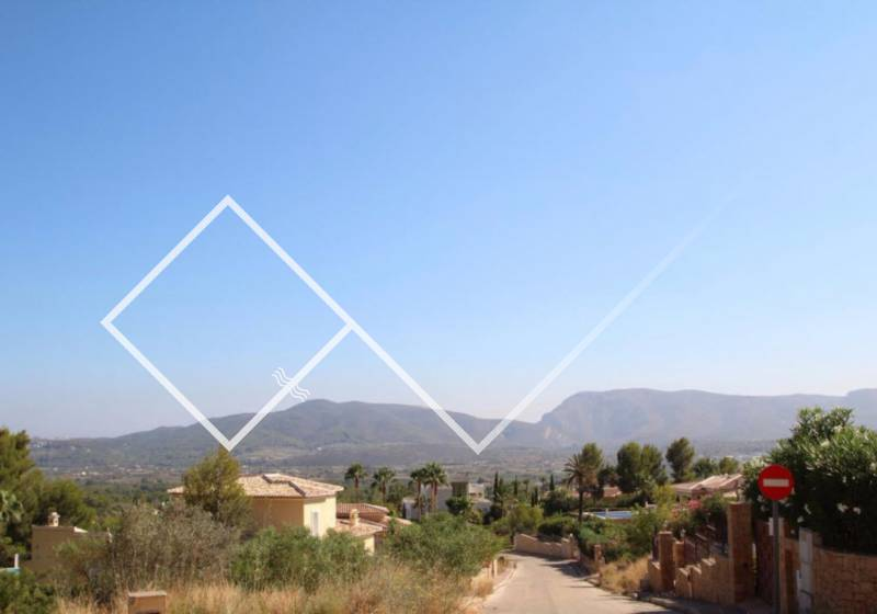 Plot - Resale - Javea - Montgo