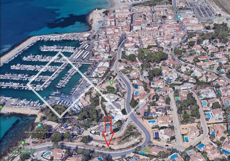 Plot - Resale - Moraira - Pla del Mar