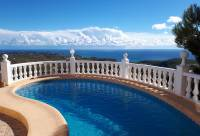 pool sea views -  Villa with great sea views for sale in Benitachell (Cumbre)
