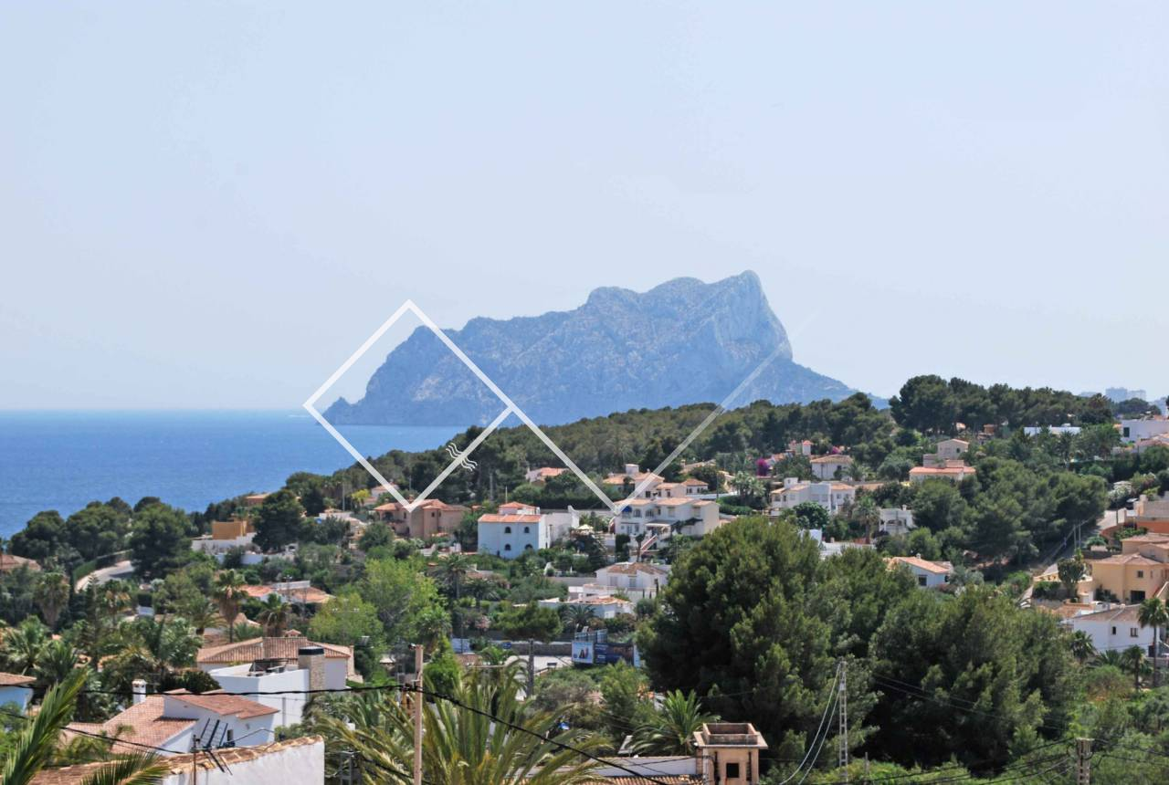 sea views - Traditional villa on one level for sale in Montemar, Benissa