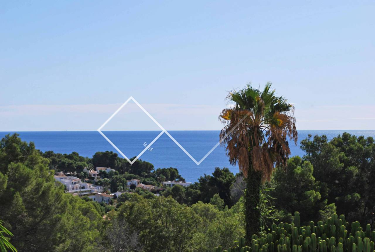 sea views - Villa in Benissa with large driveway