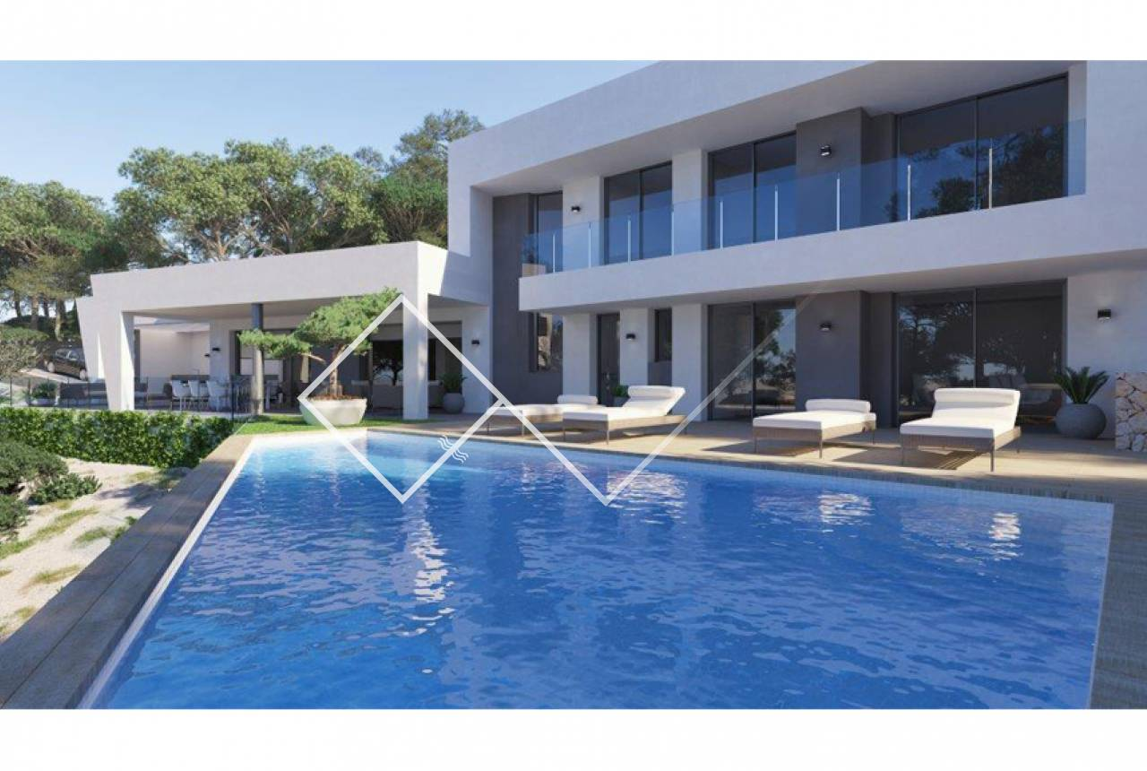under construction -  New villa de luxe for sale in Altea la Vella