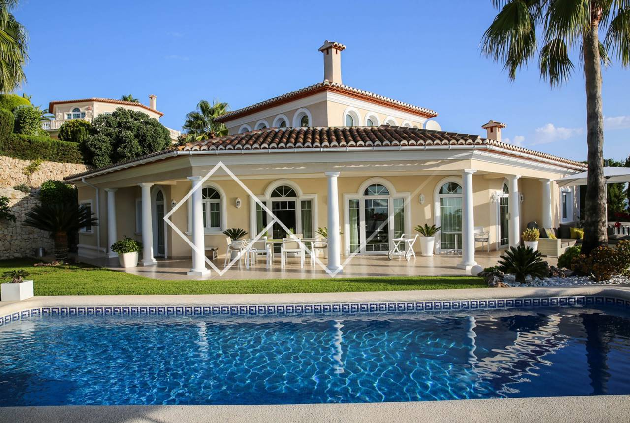 villa for sale in costa blanca moraira