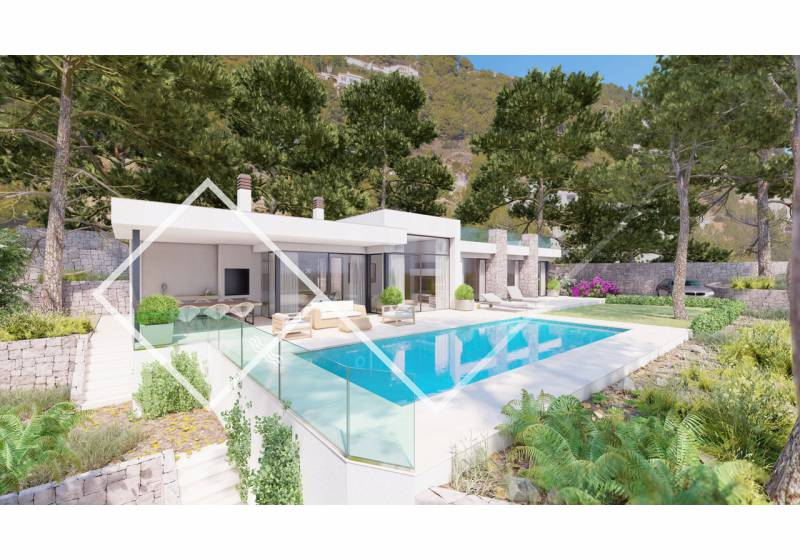 Villa - New build - Benissa - Raco de Galeno