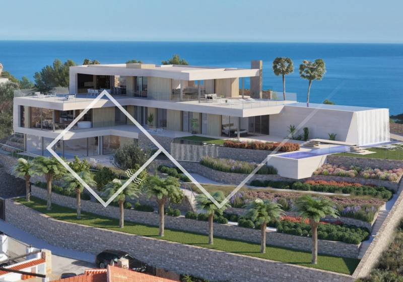 Villa - New build - Moraira - Arnella