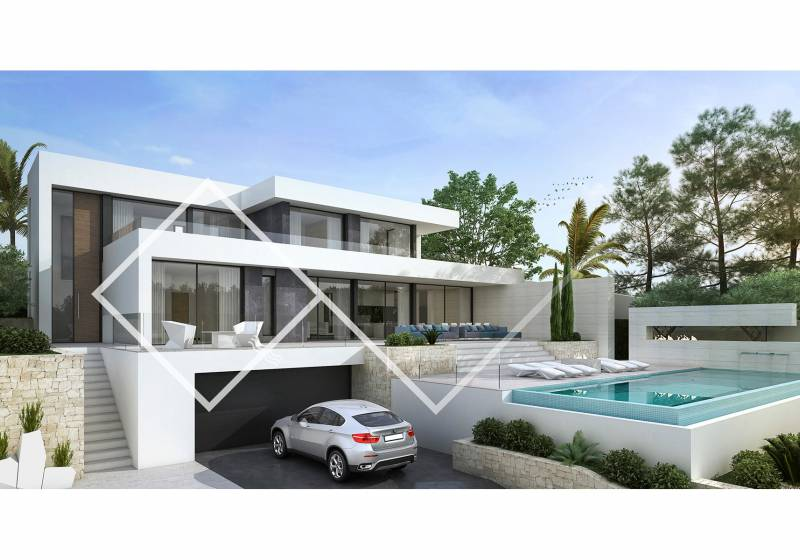 Villa - New build - Moraira - Camarrocha