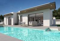 -villa pool New Build for sale : modern villa with pool close to Pedreguer