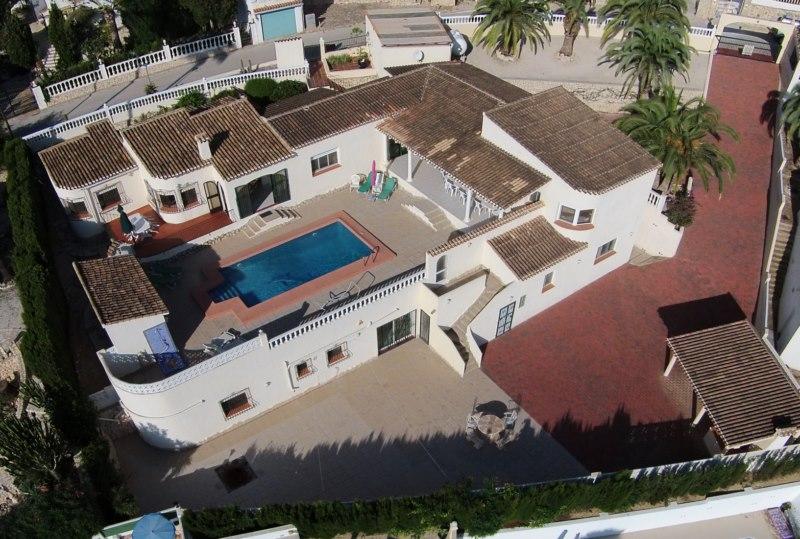 5 Chambre à coucher Villa in Moraira