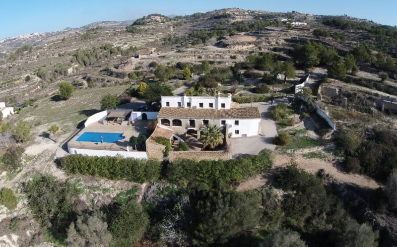 4 bedroom Country house in Benissa