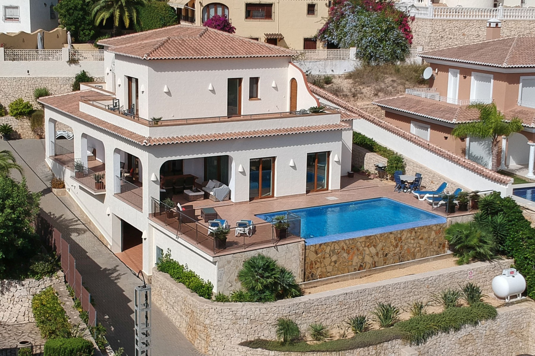 4 Slaapkamer Villa in Moraira