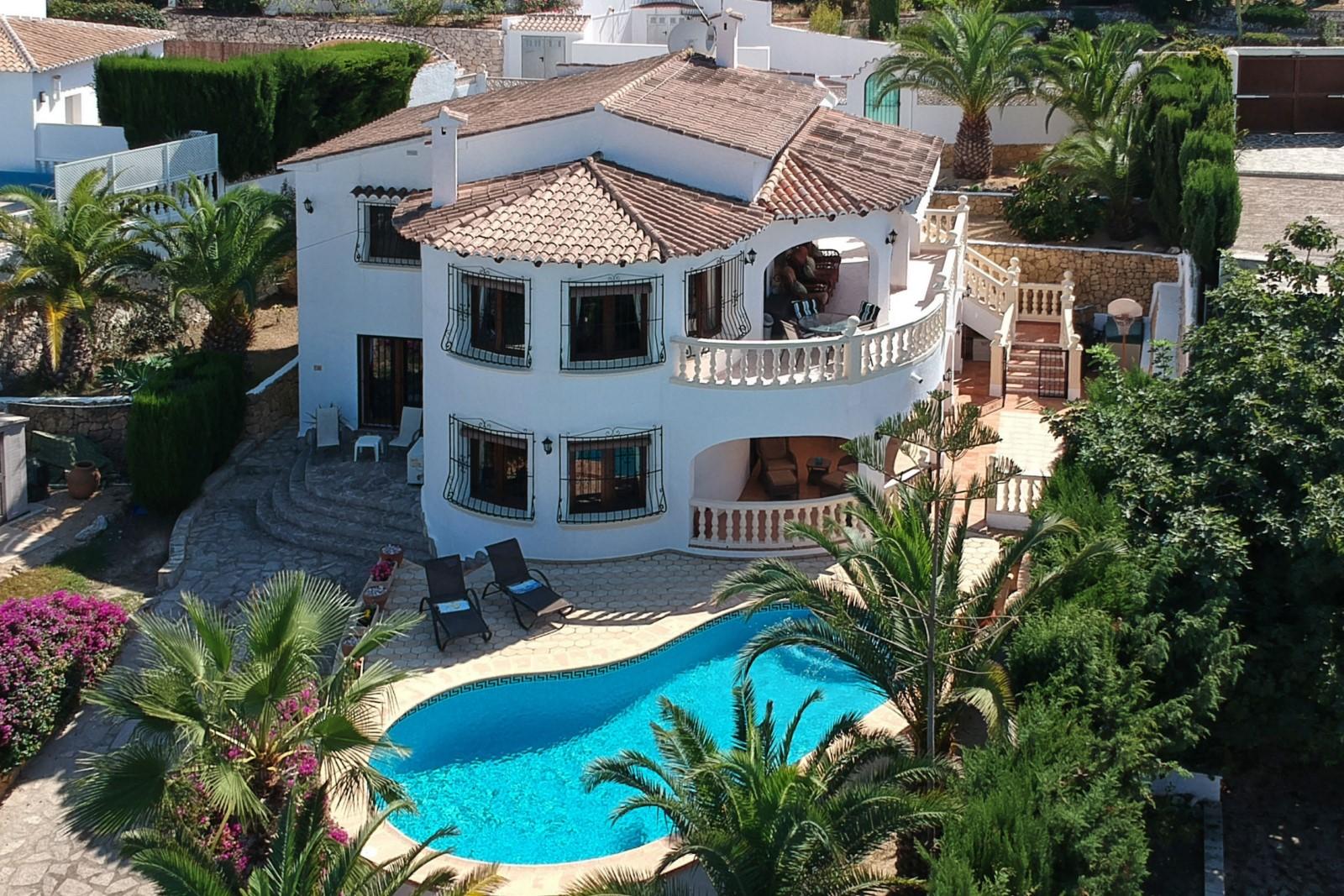 4 Chambre à coucher Villa in Moraira